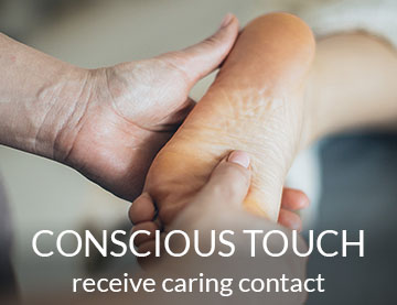Conscious Touch - Receive Caring Contact